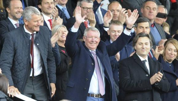 El regreso de Alex Ferguson a Old Trafford (Foto: AP / Video: Manchester United).