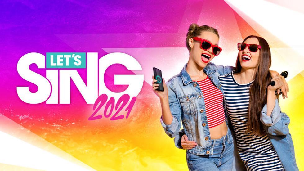 'Let's Sing 2021' ya se encuentra disponible en nuestro mercado.