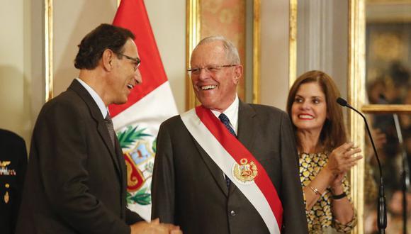 Oposición espera que sea Vizcarra quien asuma la presidencia en caso prospere una vacancia contra PPK. (USI)