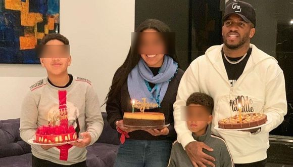 Hija mayor de Jefferson Farfán saluda a su hermano en el día de su cumpleaños. (Foto: @jefferson_farfan_oficial)