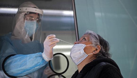 Chile se convirtió en unos de los primeros países de América Latina en recibir un cargamento de vacunas Pfizer que aterrizó hace una semana. (Martin BERNETTI / AFP).