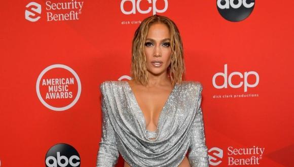 Jennifer Lopez en la gala de los American Music Awards 2020. (Foto: @amas)
