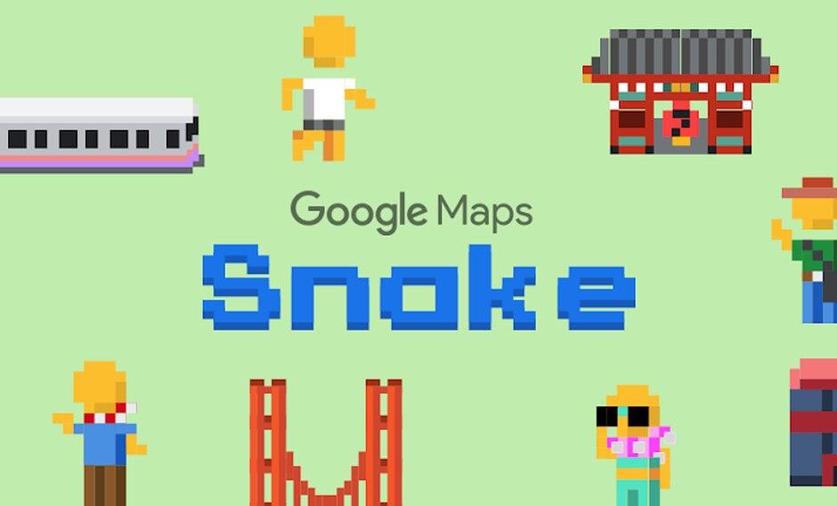 ¿Google Maps y Snake, qué puede salir mal? (Foto: Google)