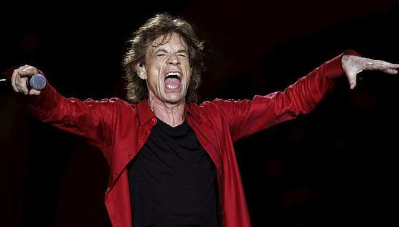 The Rolling Stones: Mick Jagger se paseó por las calles de Bogotá. (AFP)