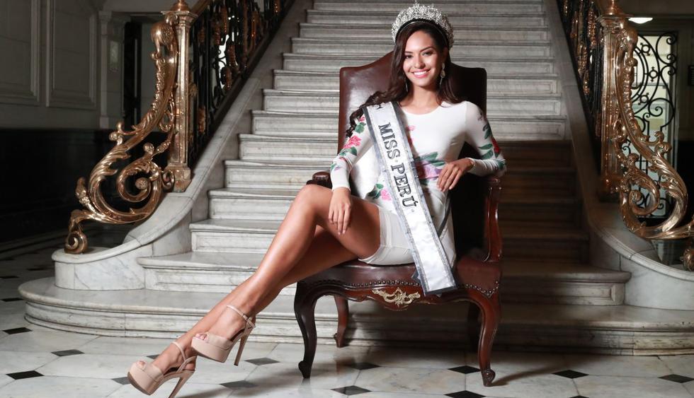 Romina Lozano representará al Perú en el Miss Universo 2018, que se realizará el próximo 17 de diciembre en Tailandia. (Foto: GEC)