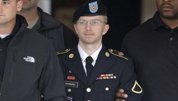 Bradley Manning también fue expulsado sin honores del Ejército de EEUU. (AP)