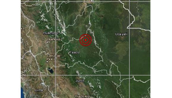 Las autoridades locales del Instituto Nacional de Defensa Civil (Indeci) aún no han reportado daños personales ni materiales a causa del evento sísmico. (Foto: IGP)
