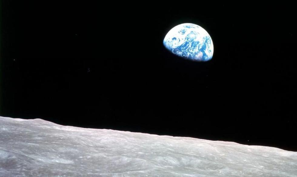 Apollo 8: A 50 años de la primera órbita del hombre alrededor de la Luna. (NASA)