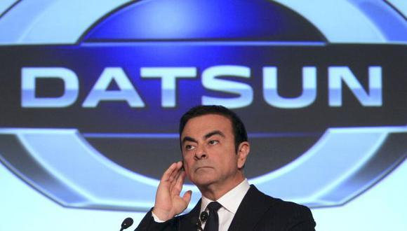 El director general de Nissan Motor Co., Carlos Ghosn hizo el anuncio mientras se encontraba en Indonesia. (AP)