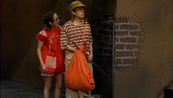 El momento que el Chavo llega a la vecindad. (Foto: Televisa)