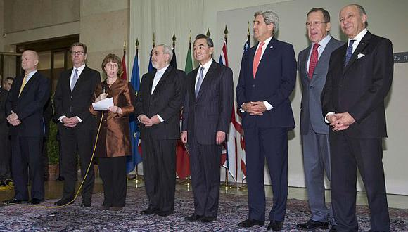 Irán y grandes potencias firmaron histórico acuerdo en Ginebra. (Reuters)