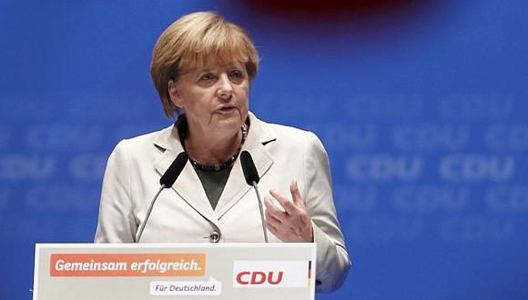 Angela Merkel criticó a sus socios de la Unión Europea. (Reuters)