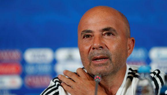 Jorge Sampaoli habló en la previa del partido Argentina vs. Francia.