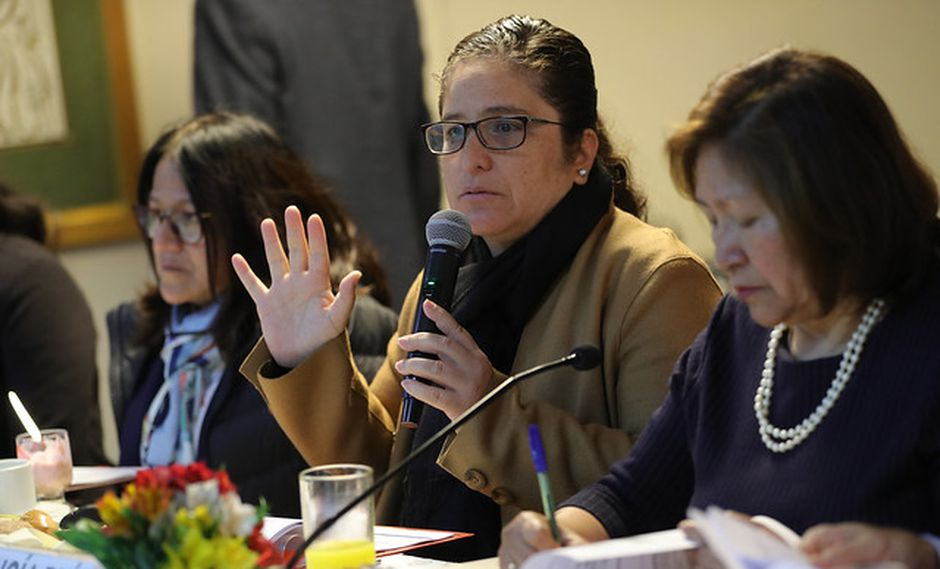 """La ministra del Ambiente consideró """"muy interesante"""" la conformación de la Bancada Verde. (Foto: Minam)"""