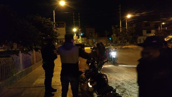 Sullana: Hombre sale de bar y dos sicarios lo asesinan de cuatro balazos (Foto: PNP)
