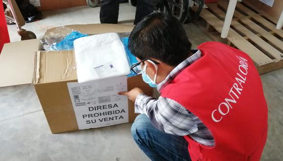 Piura: La Contraloría General de la República informó que se trata de 33 mil mandilones cuyo precio no corresponde al tipo y calidad que la Diresa recibió.