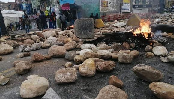 La Oroya: Así está el panorama en la Carretera Central tras ser bloqueada por trabajadores de mina Doe Run (Foto: difusión)
