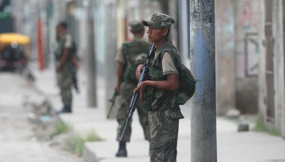 El alcalde de Magdalena, Carlomagno Chacón, dijo que los militares se enfocarían en materia de prevención, dejando el accionar directo a la Policía Nacional. (Foto: GEC)