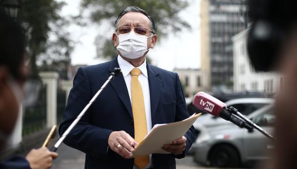 El congresista Edgar Alarcón enfrenta dos denuncias constitucionales tras su paso por la Contraloría. (Foto: GEC)