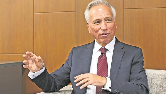 """""""Nuestra credibilidad está en juego en un primer concurso de enorme envergadura como este"""", señaló Vásquez. (Foto: GEC)"""
