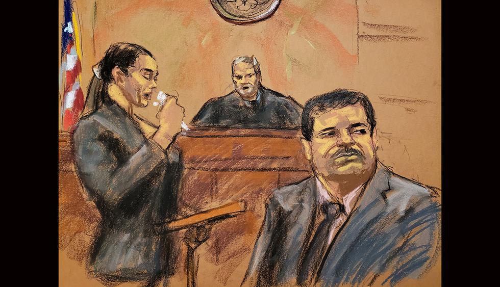 El Chapo Guzmán fue sentenciado a cadena perpetua en una corte de Nueva York. (Foto: Reuters)