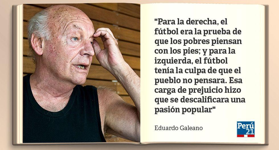 Eduardo Galeano 12 Frases Célebres Del Escritor Uruguayo