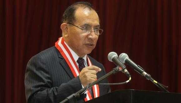Víctor Ticona, presidente de dicho Poder Judicial, pidió al CNM la destitución de cuatros jueces. (Perú21)