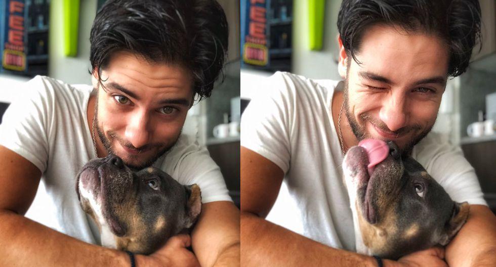 El actor peruano compartió un mensaje de amor dedicado a su nueva compañera. (Foto: Instagram)
