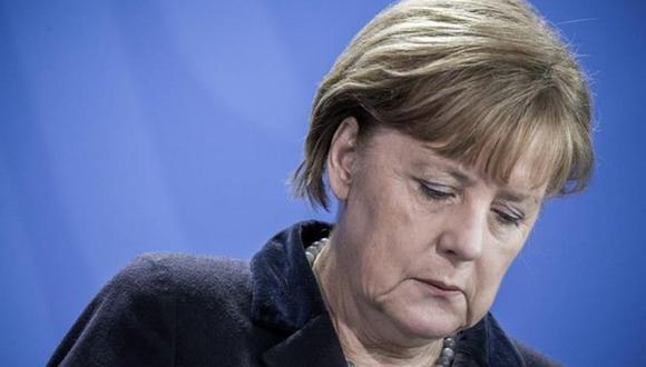 """Al realizar este anuncio, Angela Merkel estaba visiblemente triste pero en absoluto amarga. Expresó además el deseo que el """"debate sobre su sucesión se lleve a cabo de forma amistosa"""". (Foto: EFE)"""