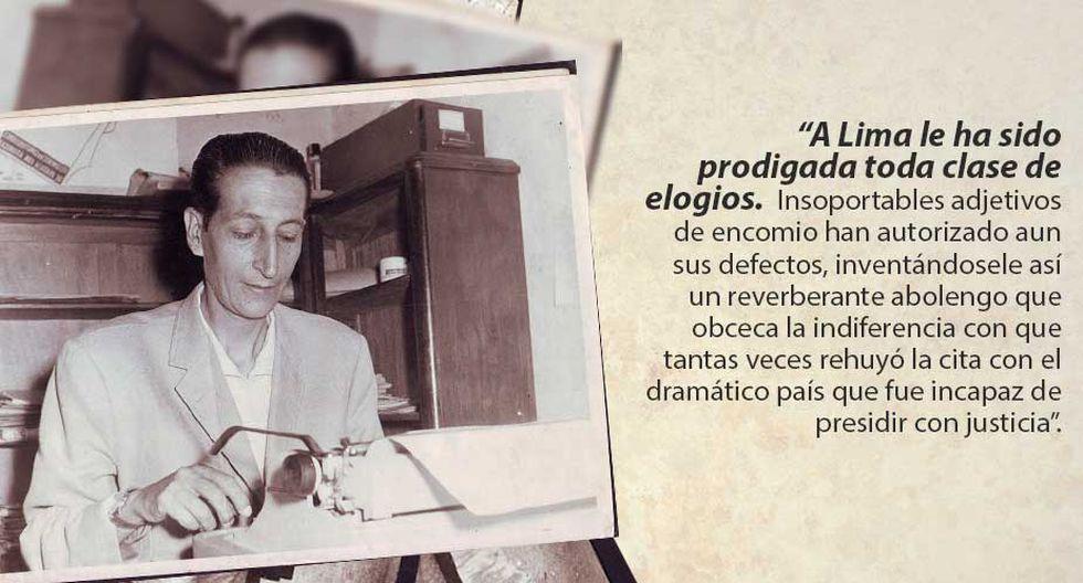 Sebastián Salazar Bondy Y 10 Frases Vigentes De Lima La