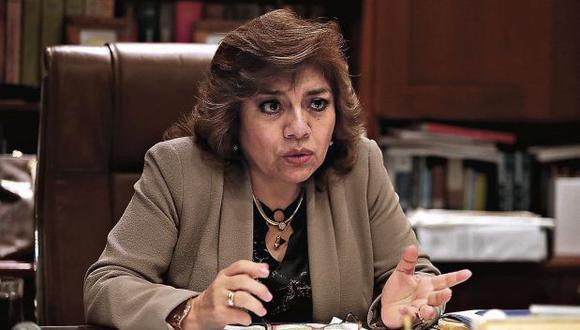 Zoraida Ávalos denegó la solicitud del equipo especial Lava Jato para que investigue al presidente Martín Vizcarra (GEC).