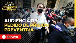 Martín Vizcarra responde ante pedido de prisión preventiva