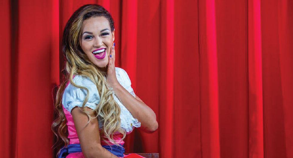 """Angie Arizaga incursiona en la música con cover de """"La mejor versión de mí"""" de Natti Natasha."""