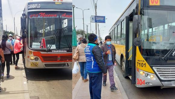 Las empresas de transporte público aumentaron la cantidad de unidades para atender a los usuarios del Metropolitano. (Foto: ATU)