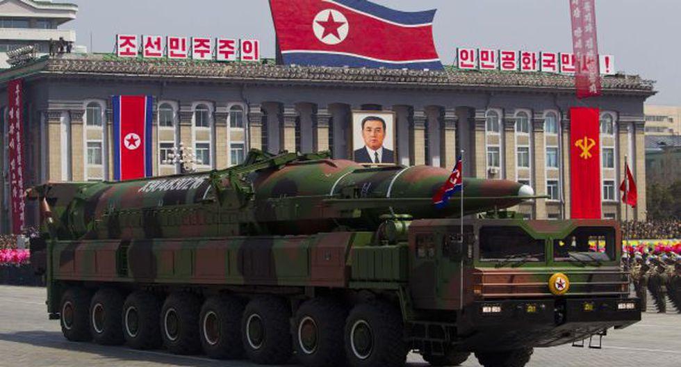 MISIL A LA VISTA. Los movimientos norcoreanos indican que lanzamiento se dará de todas formas. (AP)