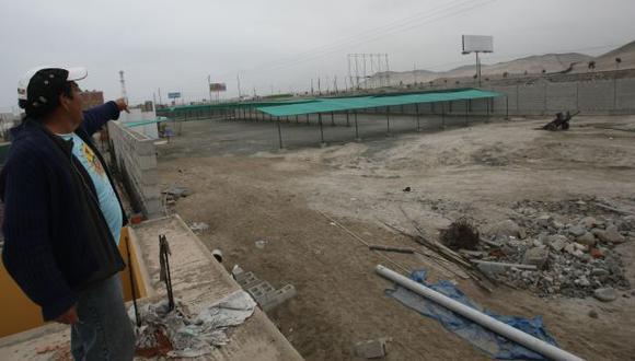 TAPIADAS. Las casas han sido perjudicadas por cerco perimétrico. (Fidel Carrillo)