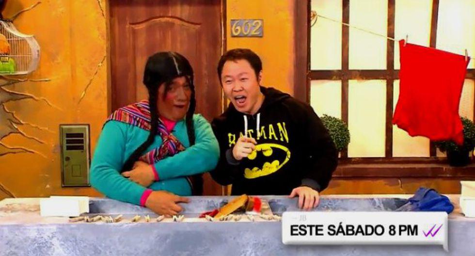 Fujimori se reencontró con 'La paisana Jacinta' en espacio del 2.