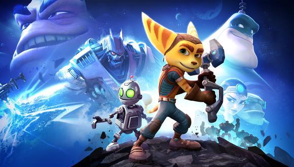 Ratchet and Clank es un videojuego de aventuras lanzado para PS4 en 2016. (Difusión)