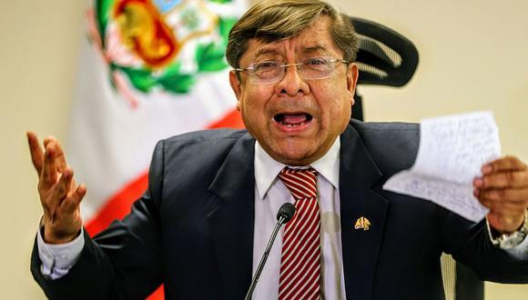 Orlando Velásquez era presidente del CNM cuando salieron a la luz los audios que revelaron corrupción en el sistema de justicia. (Foto: Andina)