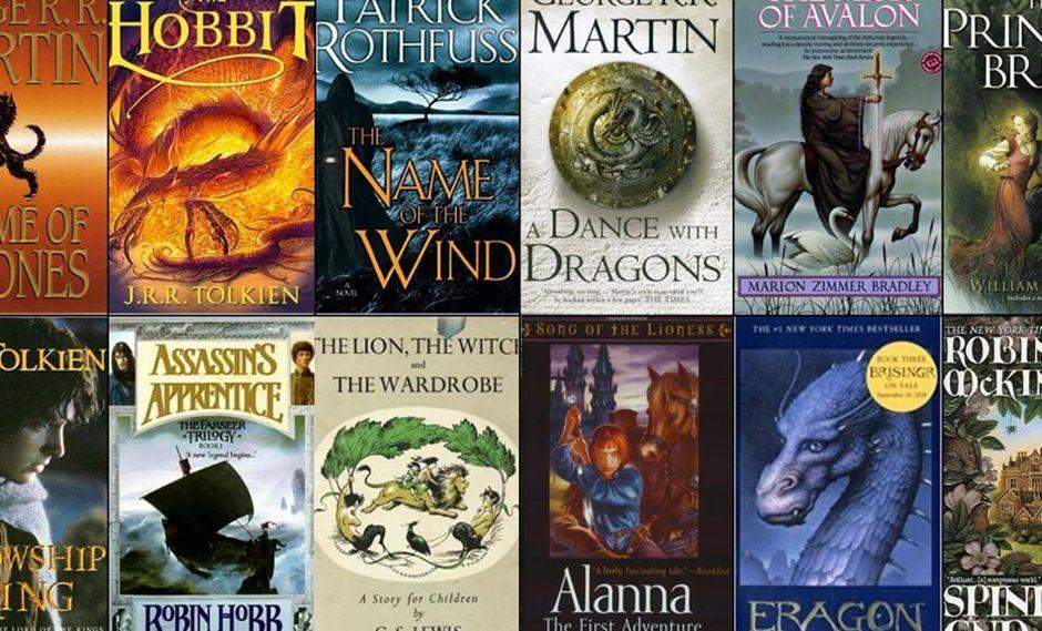 Libros de fantasía (Foto: Statree)