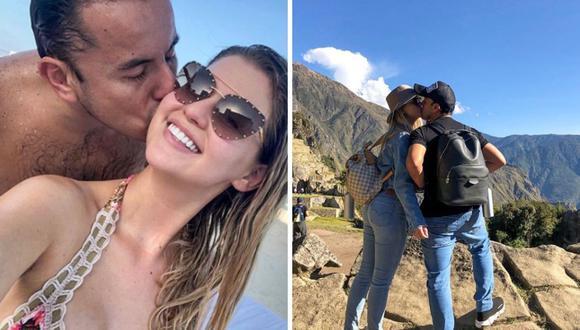 Brunella Horna y Richard Acuña no pasarían a la fila de los casados. (Instagram)