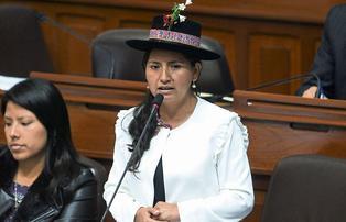 """Tania Pariona sobre casos de acoso en el Congreso: """"Se debe sancionar sin dar trato preferencial"""""""