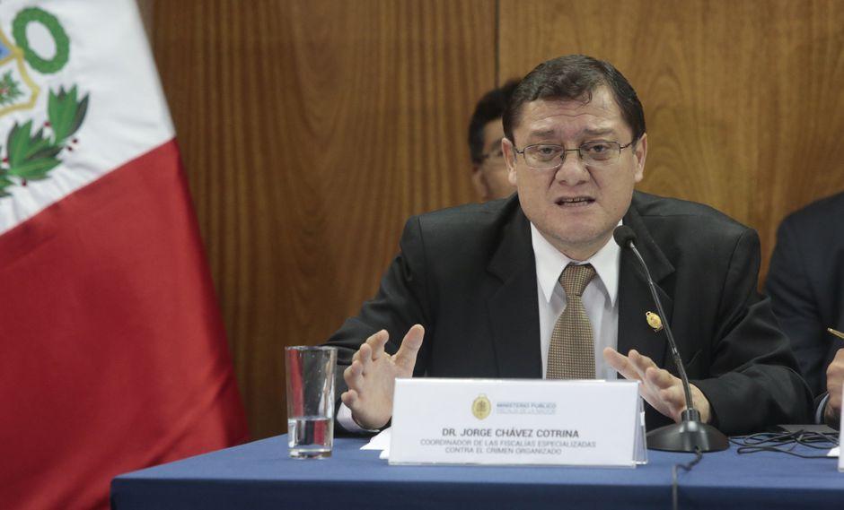 Jorge Chávez Cotrina (Gestión)