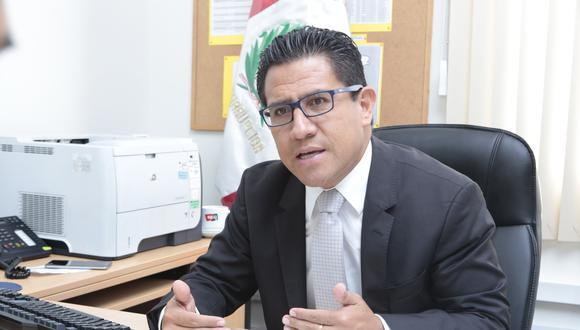 Amado Enco señaló que el Ministerio Público también debe retomar las denuncias pendientes ante el Congreso. (Foto: GEC)