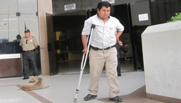 TESTIGO Y VÍCTIMA DEL ATAQUE. Pascual Cusilayme rindió su manifestación en la Dirincri. (Shirley Ávila/USI)