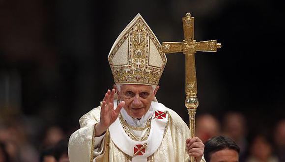 Papa defendió el celibato. (AP)