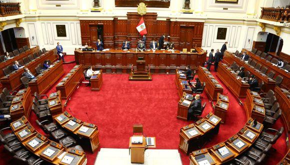 La Junta de Portavoces definió la agenda del pleno en la sesión descentralizada de este lunes 13 de julio. (Foto: PCM)