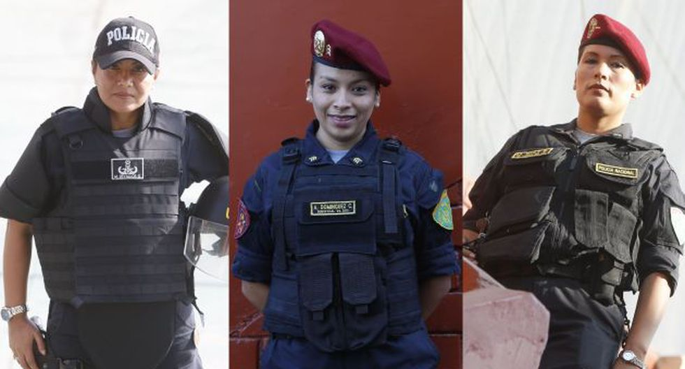 Madres guerreras: Mujeres policías que combinan ternura y valentía. (Mario Zapata)