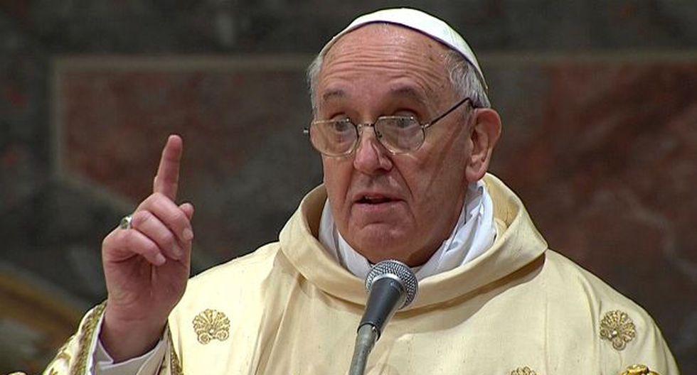 En su primera homilía, Francisco dijo que la Iglesia debería focalizarse más en los Evangelios de Jesucristo. (Reuters)