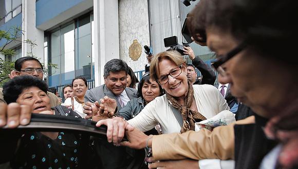 Denuncia de la procuradora de lavado de activos, Janet Briones, contra Susana Villarán prosperó a nivel fiscal. (USI)
